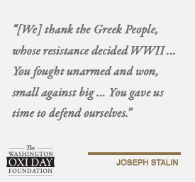 Foundation Quotes Unique Quotes From World Leaders  The Washington Oxi Day Foundation